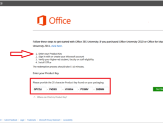 Microsoft office 365 Product Key 2020